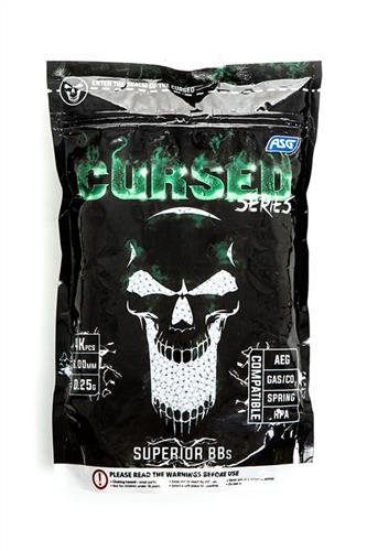 Cursed, 0,25g, 4000 stk, Hvid