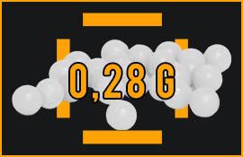 0,28 gram